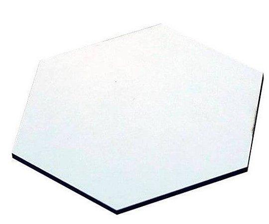 Porta copo hexágono 9x9 em MDF