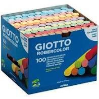 Giz Escolar Antialérgico Colorido Caixa C/ 100 Unidades