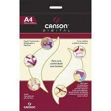 Papel Vergê Branco A4 - Canson