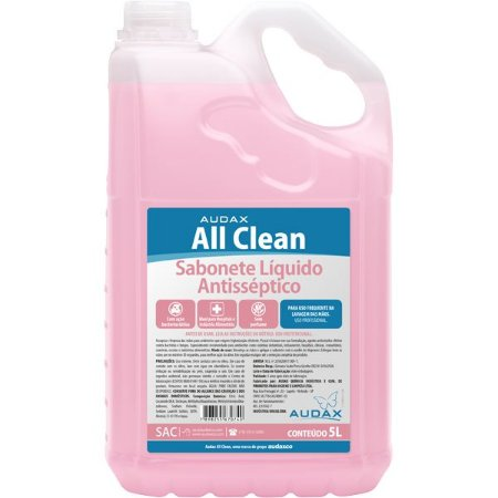 Sabonete Antisséptico All Clean 5L - Audax