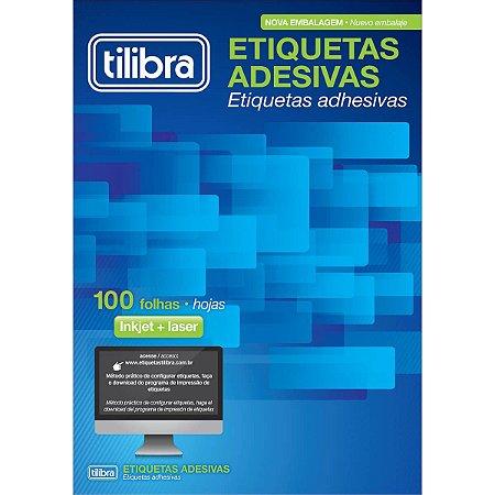Etiqueta Adesiva Tilibra Inkjet/Laser TB6182 - 1.400 Unidades