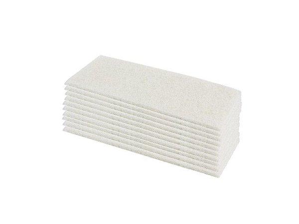 Fibra Limpeza Macia Branca Pacote com 10 Super British