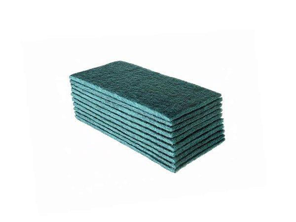 Fibra Limpeza Uso Geral Verde Pacote com 10 Super British