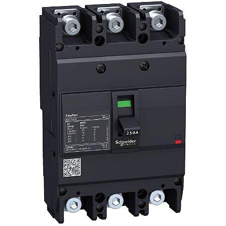 Disjuntor 200A 3 Posições - EZC250N3200 - Schneider Electric