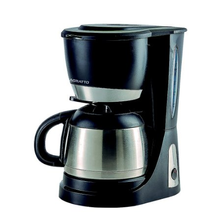 Cafeteira Elétrica 25 Xícaras Preta e Inox - Thermo CET25 - Agratto