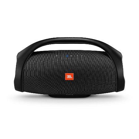 Caixa de Som Bluetooth JBL Boombox 60 RMS à Prova D'água Preto
