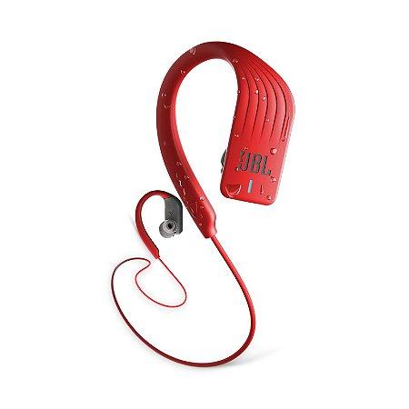 Fone de Ouvido Esportivo JBL Endurance Sprint À Prova D'água Bluetooth Vermelho