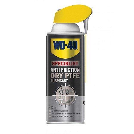 Lubrificante Seco Teflon Dry Lube Spray Specialist 400ml WD-40