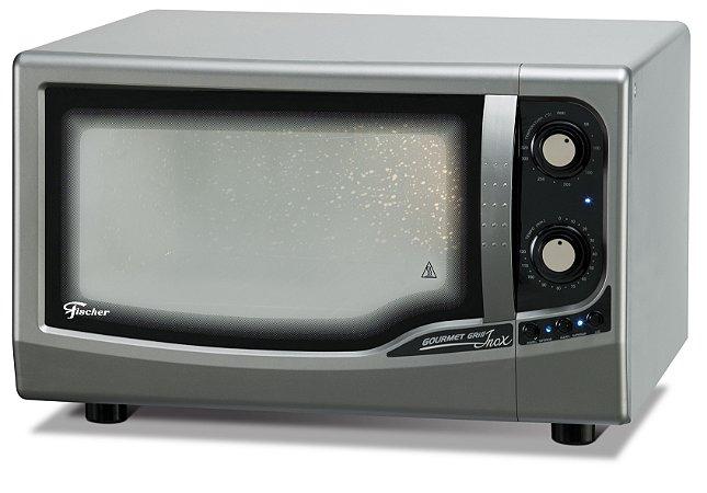 Forno Elétrico de Bancada Fischer Gourmet Grill 44 Litros Inox - 127V