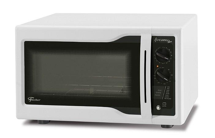 Forno Elétrico de Bancada Hot Grill 1750W Branco 44 Litros - 2403851253-FS - 127V - Fischer