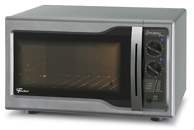 Forno Elétrico de Bancada Fischer Hot Grill Silver 44 Litros 127V