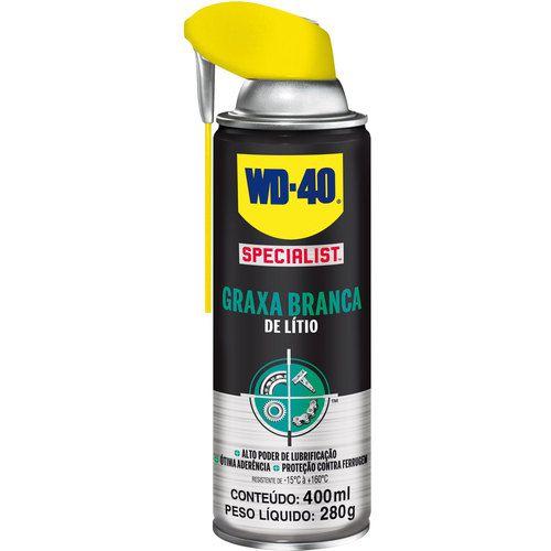 Graxa Branca de Lítio Spray Specialist 400ml WD-40