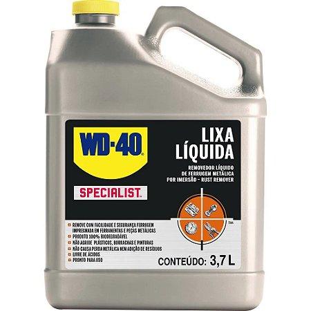 Removedor Lixa Líquida de Ferrugem Specialist 3,7 Litros WD-40