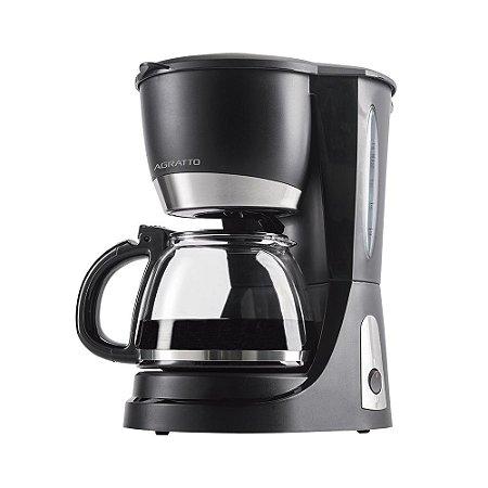 Cafeteira Elétrica 30 Xícaras 820W Preta - Vetro Caffe CEV3001 - 127V - Agratto
