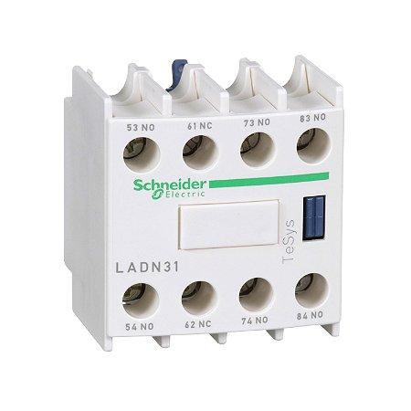 Contato Auxiliar Instantâneo Frontal 3NA+1NF Contator - LADN31 - Schneider Electric
