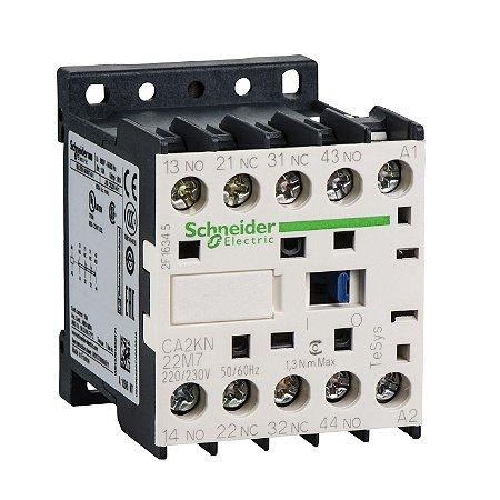 Contator Auxiliar Tesys K 2NA+2NF 220VCA - CA2KN22M7 - Schneider Electric