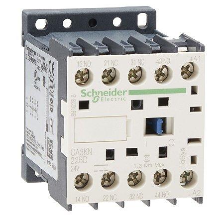 Bloco de Contator Auxiliar Tesys K 2NA+2NF 24VCC - CA3KN22BD - Schneider Electric