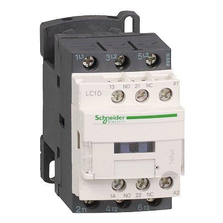 Contator Tripolar 18A 1NA+1NF 220VCA - LC1D18M7 Schneider Electric