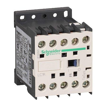 Contator Tripolar Tesys K 9A 1NA 24VCA - LC1K0910B7 - Schneider Electric