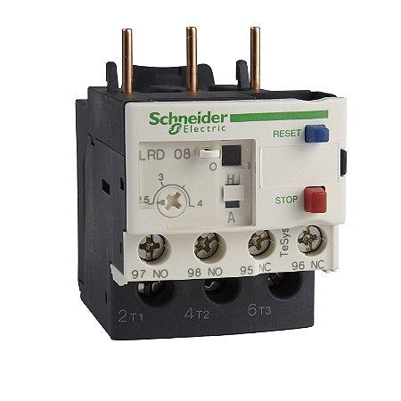 Rele Térmico Tesys D Classe 10 4-6A 1NA+1NF - LRD10 - Schneider Electric
