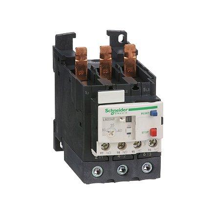 Rele Térmico Tesys D Everlink Classe 10 25-40A 1NA+1NF - LRD340 Schneider Electric