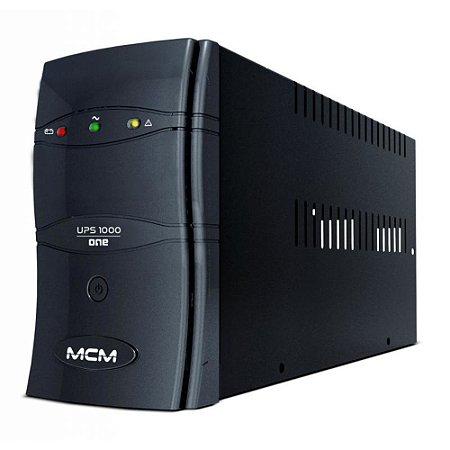 Nobreak 1000VA MCM Ups1000 One 3.1 115/127/220V - Trivolt