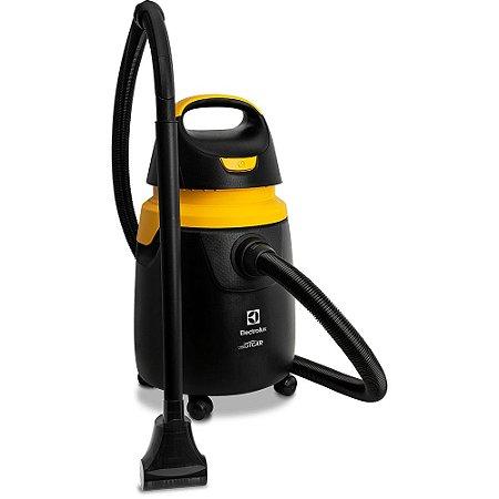 Aspirador de Pó e Água 1300W Preto e Amarelo -  Profissional GTCAR  - 127V -  Electrolux