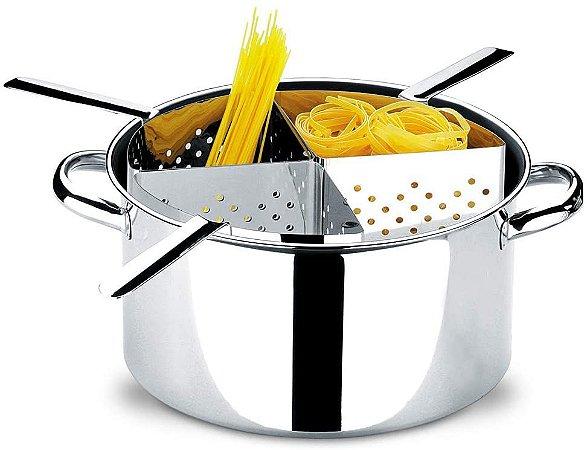 Espagueteira Brinox 4 Divisões Savoy Inox