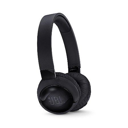 Fone de Ouvido JBL Tune 600BTNC Headphone On-Ear Bluetooth Microfone Preto