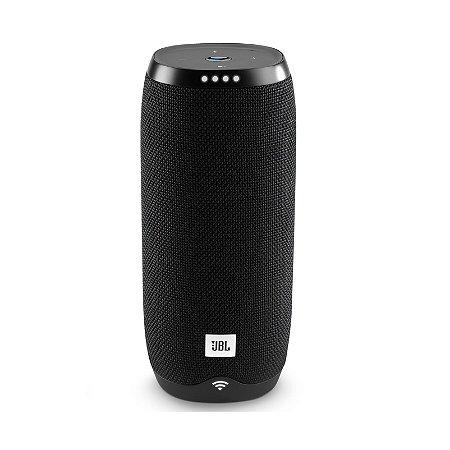 Caixa de Som Bluetooth JBL Link 20 20W RMS Assistente de Voz À Prova D'água Preto