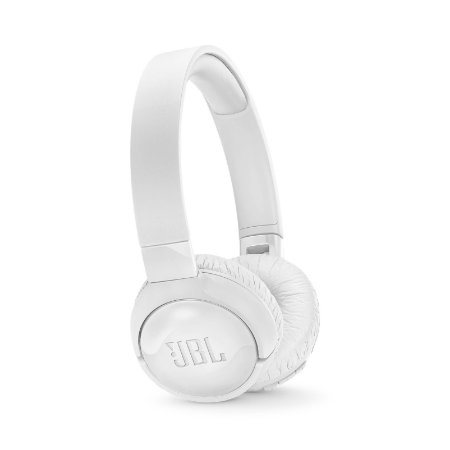 Fone de Ouvido JBL Tune 600BTNC Headphone On-Ear Bluetooth Microfone Branco