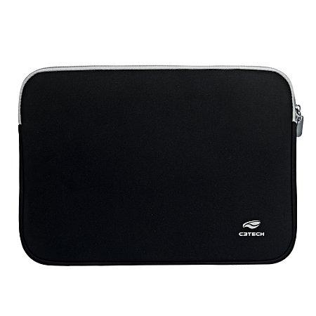 """Capa Sleeve para Notebook C3TECH 15.6"""" Seattle SL-15PTO Preta"""