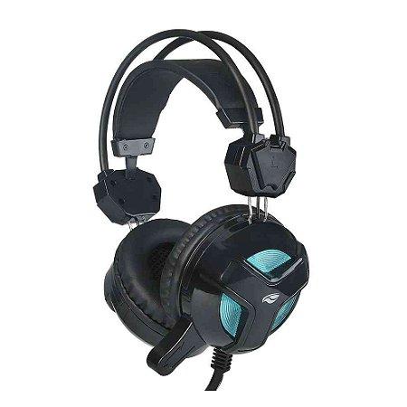 Headset Gamer C3Tech Blackbird com Microfone PH-G110BK - Preto