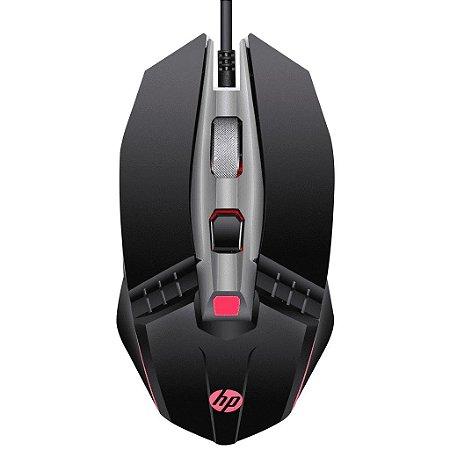Mouse Gamer  HP USB M270 2400DPI LED Preto
