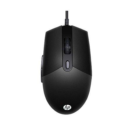 Mouse Gamer HP M260 Usb 6 Botões 6400 Dpi Rgb - Preto