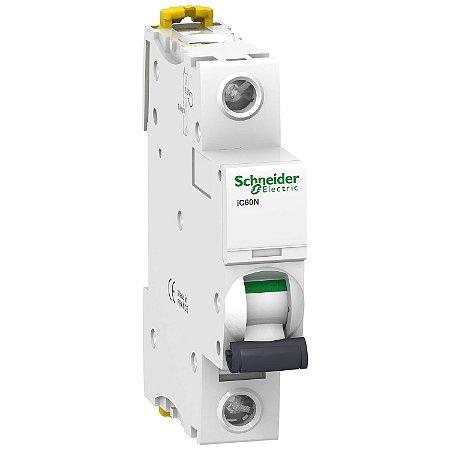 Disjuntor Acti9 IC60N 1P C 20A 230V - A9F74120BR Schneider Electric