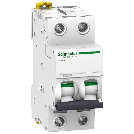 Disjuntor Acti9 IC60N 2P C 16A 440V - A9F74216BR Schneider Electric
