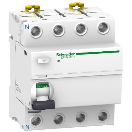 Interruptor Diferencial iID 4P 100A 30mA - A9R51491 Schneider Electric
