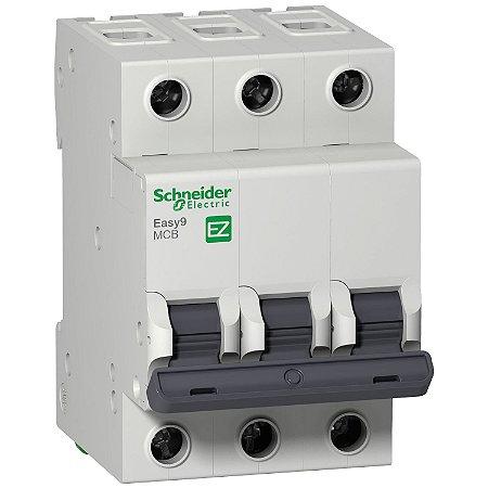 Disjuntor Easy9 3P 16A C 6000A 400V - EZ9F56316 - Schneider Electric