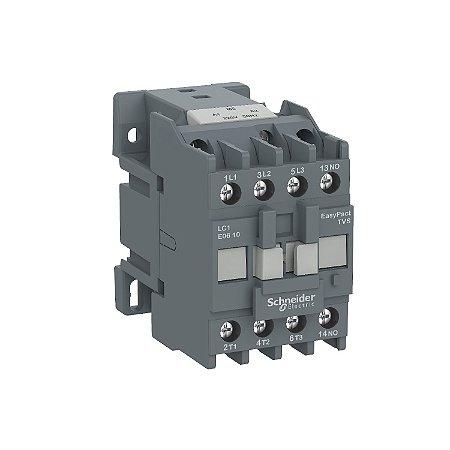 Contator Tripolar Tesys E 9A 1NA 110VCA-50/60Hz - LC1E0910F7 Schneider Electric