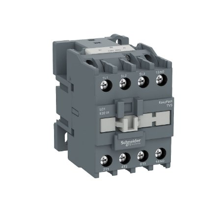 Contator Tripolar Tesys E 38A 1NA 110VCA-50/60Hz - LC1E3810F7 Schneider Electric