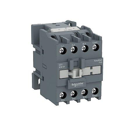 Contator Tripolar Tesys E 38A 1NA 220VCA-50/60Hz - LC1E3810M7 - Schneider Electric