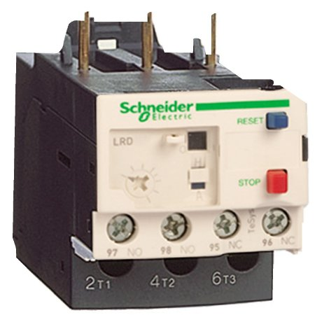 Rele Termico Tesys D Classe 10 1.6-2.5A 1NA+1NF - LRD07 Schneider Electric