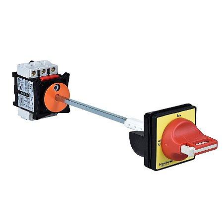 Interruptor Secionador VCCF - Tesys - 3P - 690 V 40 A - Punho Vermelho C/ Bloq. Cadeado - VCCF2 Schneider Electric