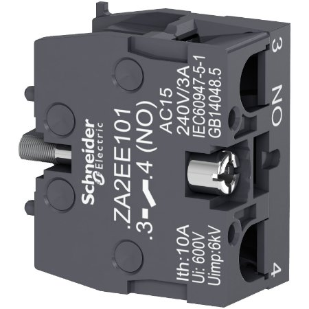 Bloco De Contato XA2E 1 NA - ZA2EE10 Schneider Electric