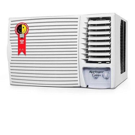 Ar Condicionado Janela Springer Midea Mecânico Só Frio 18000 BTUs ZCI185BB - 220V