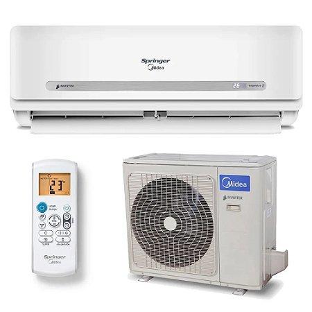 Ar Condicionado Split Inverter Springer Midea Quente e Frio 33000 BTUs 42MBQA33M5 - 220V