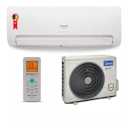 Ar Condicionado Split Inverter Springer Midea Só Frio High Wall 9.00 BTUs 42MBCB09M5 - 220v