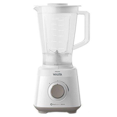 Liquidificador Philips Walita Daily com 2 Velocidades 550W RI2110 Branco - 127V