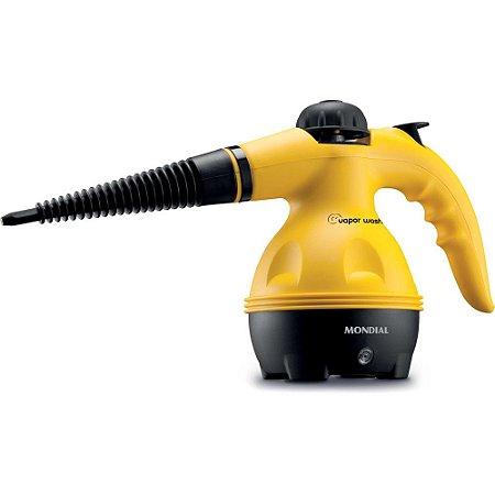 Vaporizador e Higienizador a Vapor Mondial Wash HG-01 Amarelo e Preto - 127V